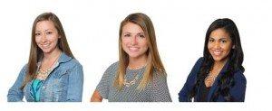 Emily Golden, Sarah Hoogerhyde, Lumary Velazquez