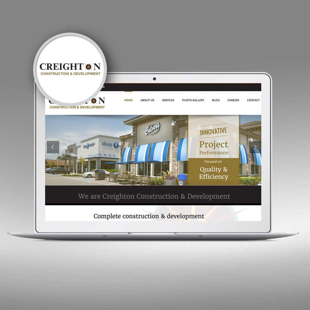 Creighton Development Website by Priority Marketing