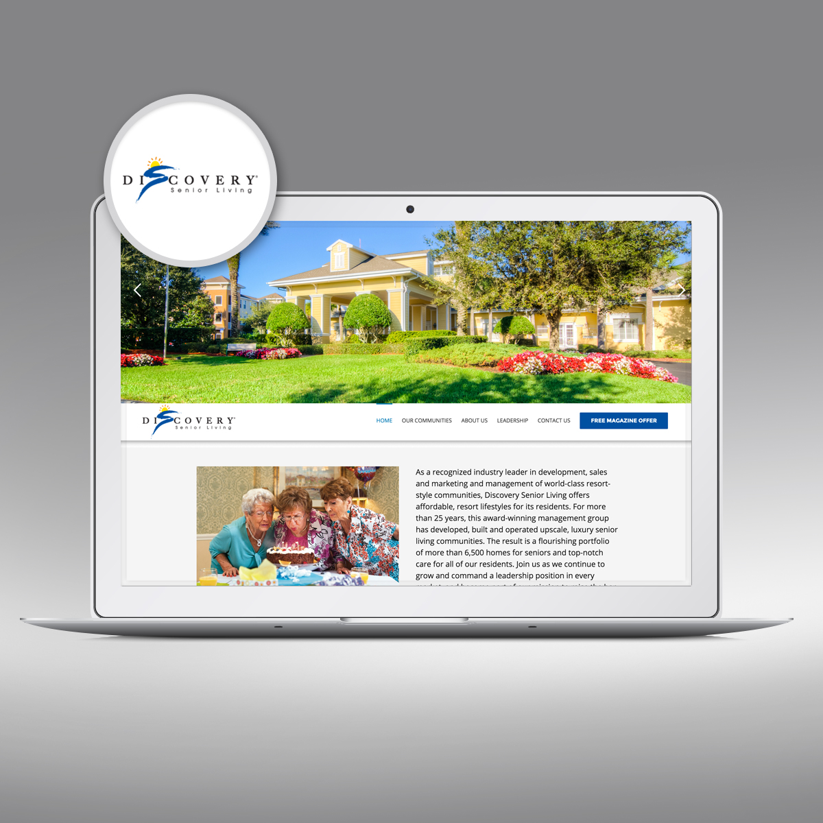 Discover Senior Living by Priority Marketing