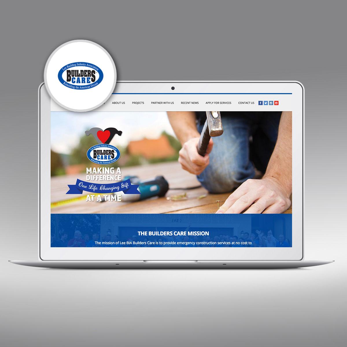 Lee Builders Care, Website by Priority Marketing