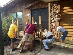 Lee BIA Builders Care Constructs Wheelchair Ramp for Family in Need
