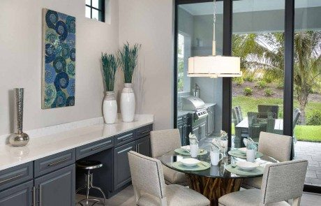 Norris Furniture & Interiors has completed the interior design of Marvin Development Corporation's Captiva showcase home, located at Naples Reserve's Parrot ...