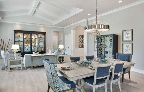 Norris Furniture U0026 Interiors Completes Interior Design Of Captiva Showcase  Home At Naples Reserve