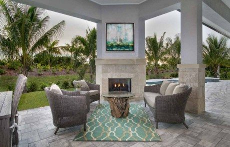 Norris Furniture Interiors Completes Interior Design Of Captiva Showcase Home At Naples
