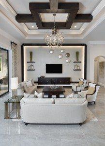 Norris - The St. Bridget Model - Living Room-rz