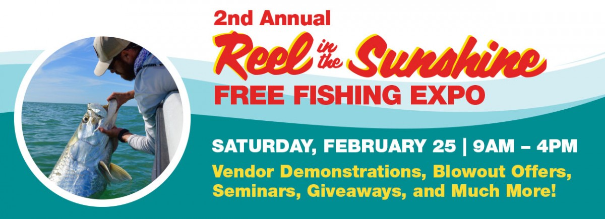 Reel in the Sunshine Free Fishing Expo