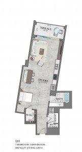 studio apartment, redesigns floor