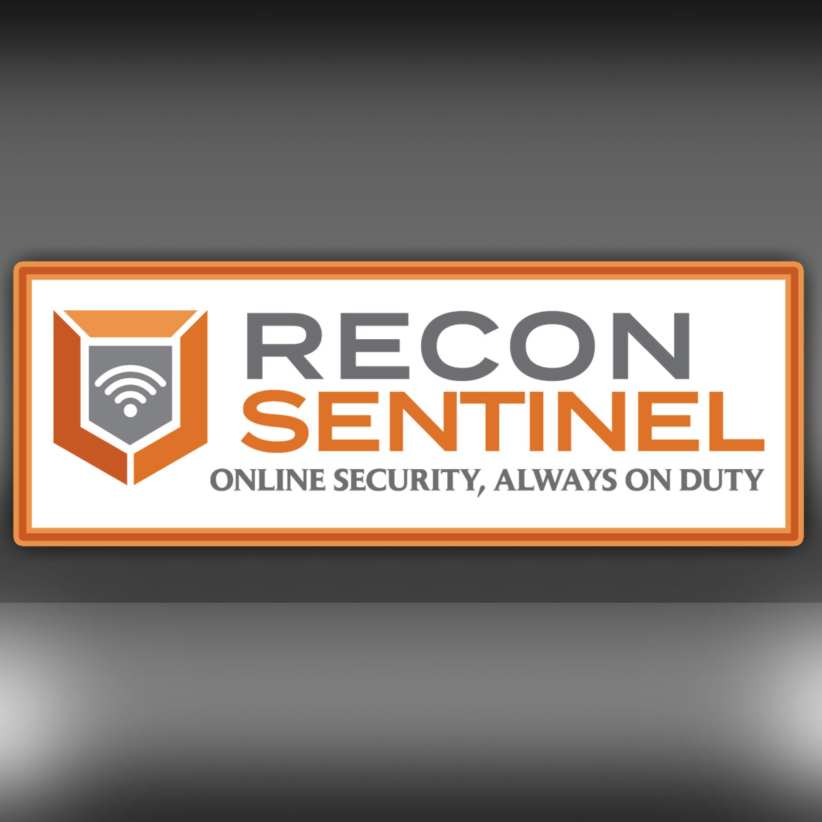 Recon Sentinel Logo and Tagline