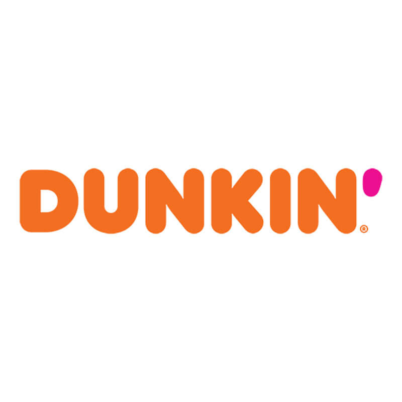 Dunkin Logo Client of Priority Marketing