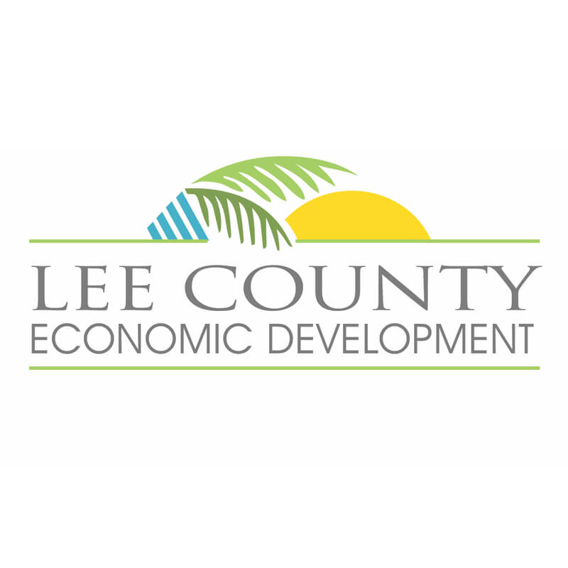 Lee County Economic Development Logo Client of Priority Marketing