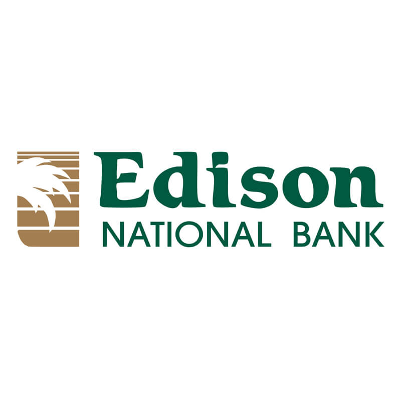 Edison National Bank Logo Client of Priority Marketing