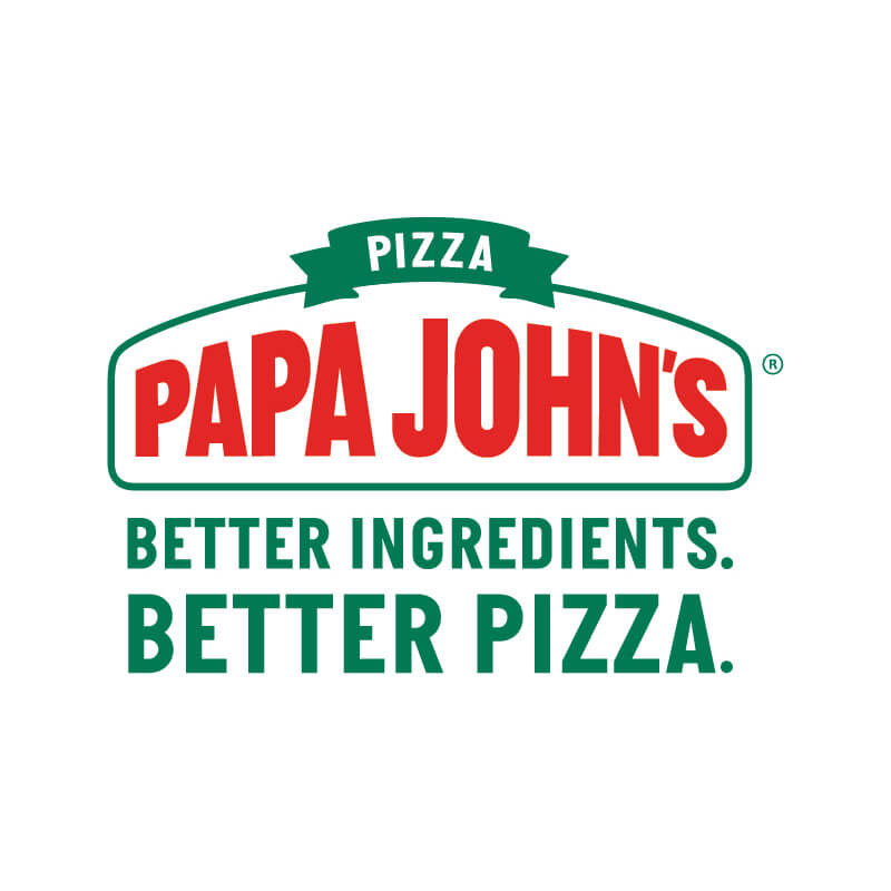 Papa John's Pizza Logo Client of Priority Marketing