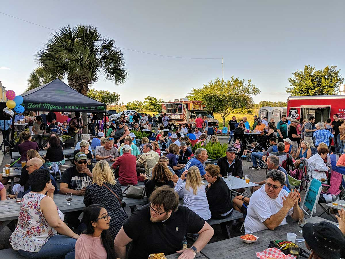 Fort Myers Brewing Company's seventh anniversary celebration