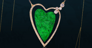 Mark Loren Designs Heart-Shaped Necklace