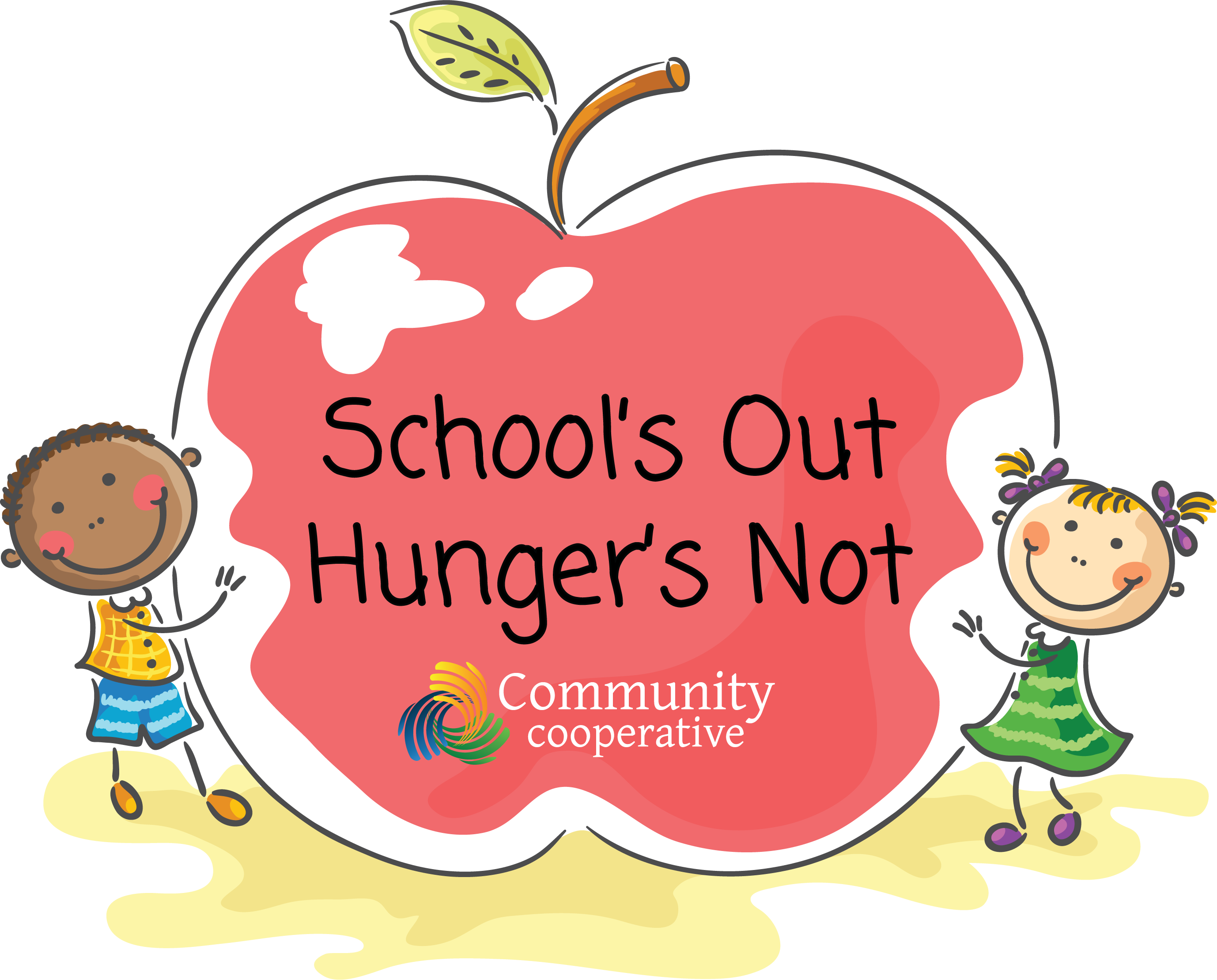 Community Cooperative - School's Out, Hunger's Not