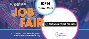 Job and Resources Fair Oct. 14 at Turning Point Church